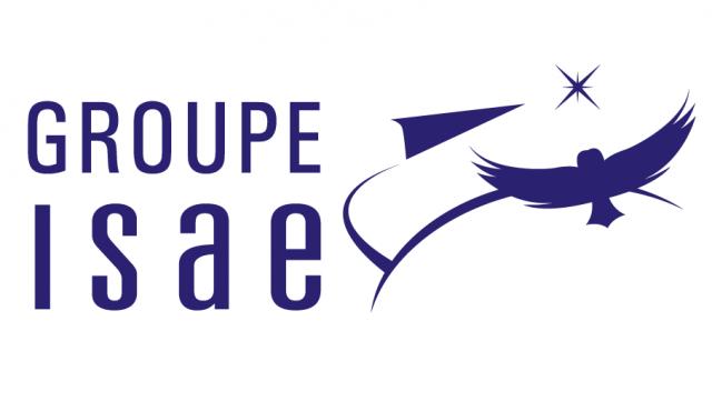 Logo Groupe ISAE monochrome